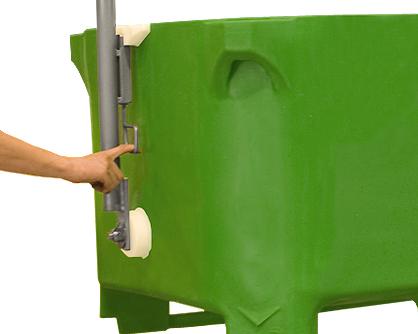 rotogal volteador de contenedores